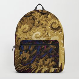 Messy Abstract Backpack