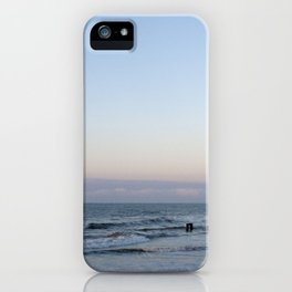 Late Summer Blues Folly Beach iPhone Case