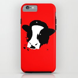Cowmmunist! iPhone Case