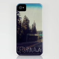 Let's Run Away IV iPhone (4, 4s) Slim Case