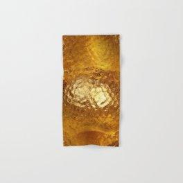 Hammered Gold Hand & Bath Towel