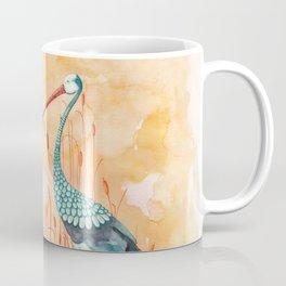 An Exotic Stork Coffee Mug