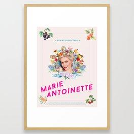 Marie Antoinette alternative movie poster Framed Art Print