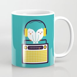 Radio Mode Love Coffee Mug