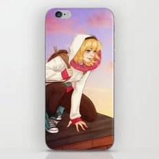 Casual Spider iPhone Skin