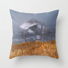 big sur mornings Throw Pillow