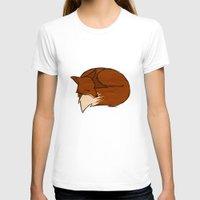 fireflies T-shirts featuring Foxes & Fireflies by Wideawake Sleep Clinic