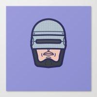 robocop Canvas Prints featuring ROBOCOP by M. Gulin