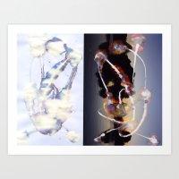 bleach Art Prints featuring Bleach-1 by Bzerk Creative