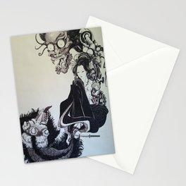 Oni Geisha Stationery Cards