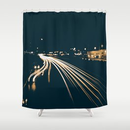 Long Exposure Shower Curtain
