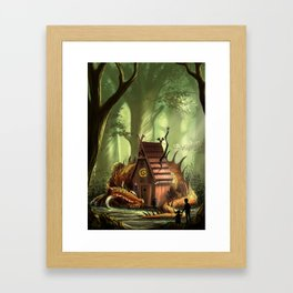 DragonHouse Framed Art Print