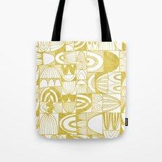 Golden Doodle squares Tote Bag