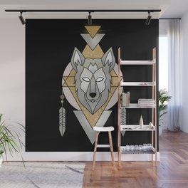 Mystic Wolf Wall Mural