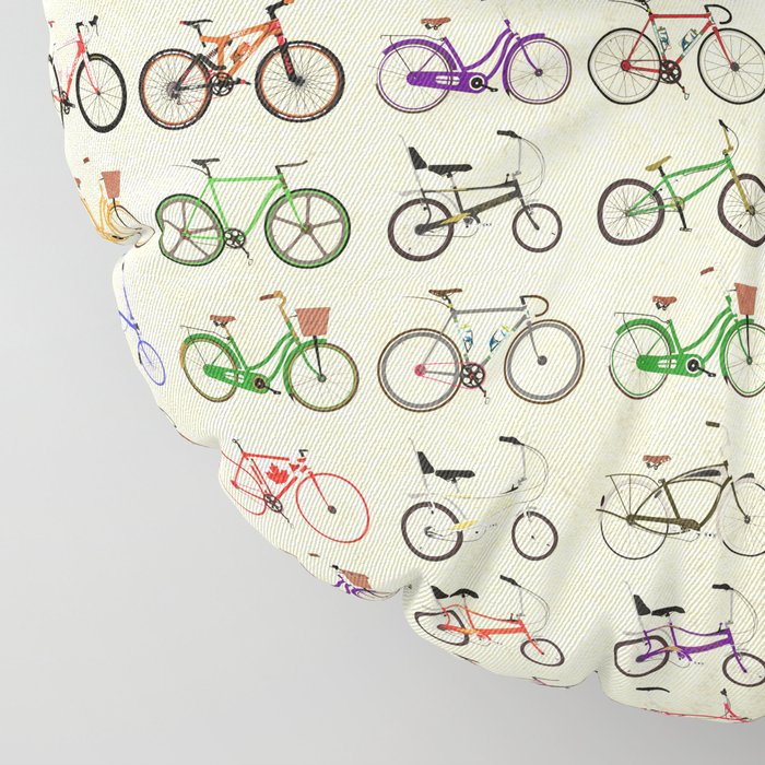 Bikes Floor Pillow
