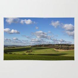 Views of Wiltshire. Rug