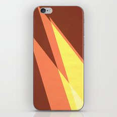 Vintage Space Poster Series II - Discover Space - It's a Blast! iPhone & iPod Skin