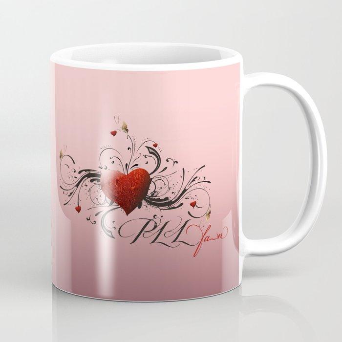 Pretty Little Liars fan heart Coffee Mug