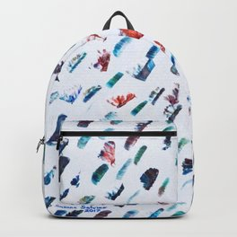 Colorful Lashes in Acrylic Backpack