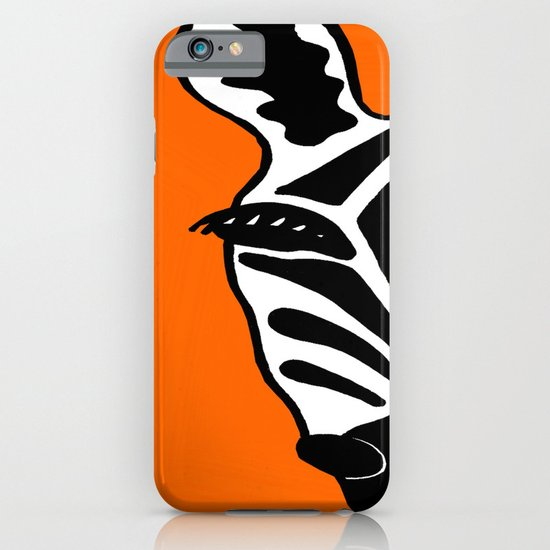 Two Face Zebra iPhone & iPod Case