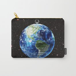 Disco Earth Carry-All Pouch