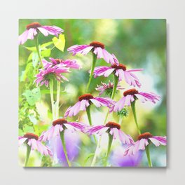 Wandering in the garden - summer mood Metal Print