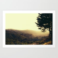 Morning in your Eyes Art Print