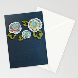 Floral Embroidery by SeptemberHouse Stationery Cards