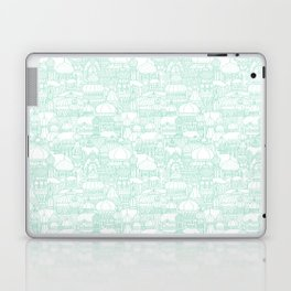 Delightful Domes - Mint Laptop & iPad Skin