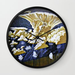 """Cold Front"" Wall Clock"