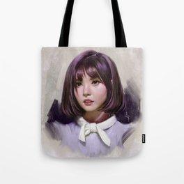 Portait of Eunha Tote Bag