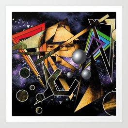 art in the space Art Print