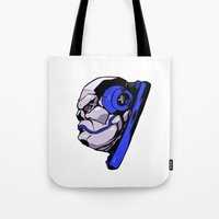 xmen Tote Bags featuring x24 by jason st paul