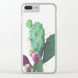Prickly Pear Clear iPhone Case