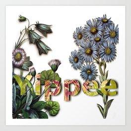 Yippee! Art Print