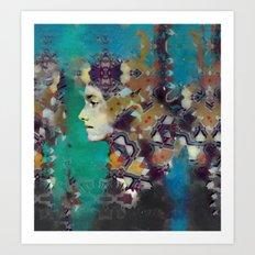 Kelp Queen Art Print