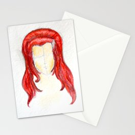 Colored Queen Stationery Cards