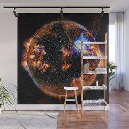 Solar Weather Of A Dark Star Wall Mural