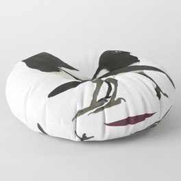 Two For Joy - Magpie Pair Floor Pillow