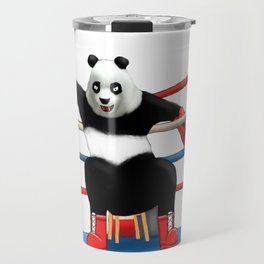 Boxing Panda Travel Mug