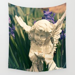 B Angel Wall Tapestry