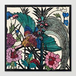 """Bird of Paradise"" by Margaret Preston Canvas Print"