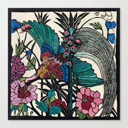 """Bird of Paradise"" by Margaret Preston Canvas Print"