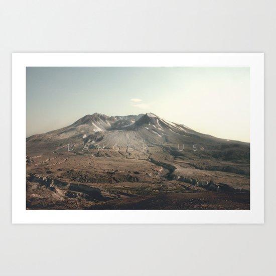 Mt. St. Helens Art Print