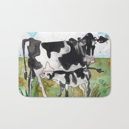 Cow Mommy Bath Mat