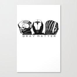 Fire Team Gray Matter Canvas Print