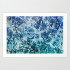 MINERAL MAGIC Art Print
