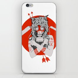Lady of the Wild iPhone Skin