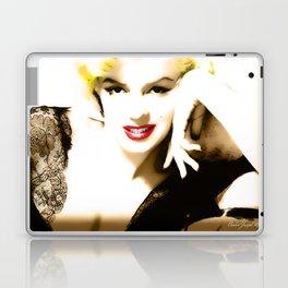 Portrait of  Marilyn Monroe Laptop & iPad Skin