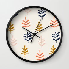 Sprigs Wall Clock